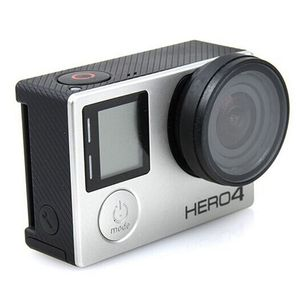 Image 2 - Anti exposed lens frame Protective Lens Cover HR253 for GOPRO HERO 3+/4 Camera Accessories