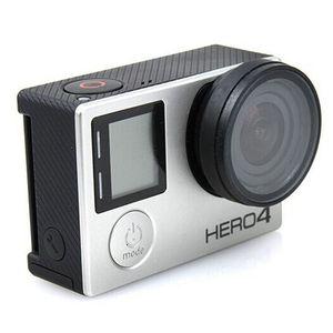 Image 2 - إطار عدسة مضاد للتعرض واقي غطاء للعدسات HR253 لـ GOPRO HERO 3 +/4 (أسود)