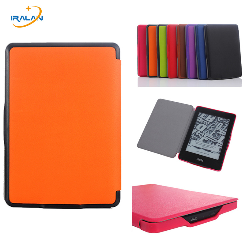 Tablet smart case For Amazon kindle paperwhite 123 PU Leather Magnetic cover Fit Kindle Paperwhite 2013 2015 2016 6th+film+pen for amazon 2017 new kindle fire hd 8 armor shockproof hybrid heavy duty protective stand cover case for kindle fire hd8 2017