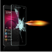0.3mm 9H tempered glass For lenovo A5000 A 5000 5.0″ screen protector protective guard film front case cover +clean kits