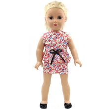 Handmade 18 inch American Girl Doll Clothes 15 Style Multi Color Skirt Suit Fits 18 American