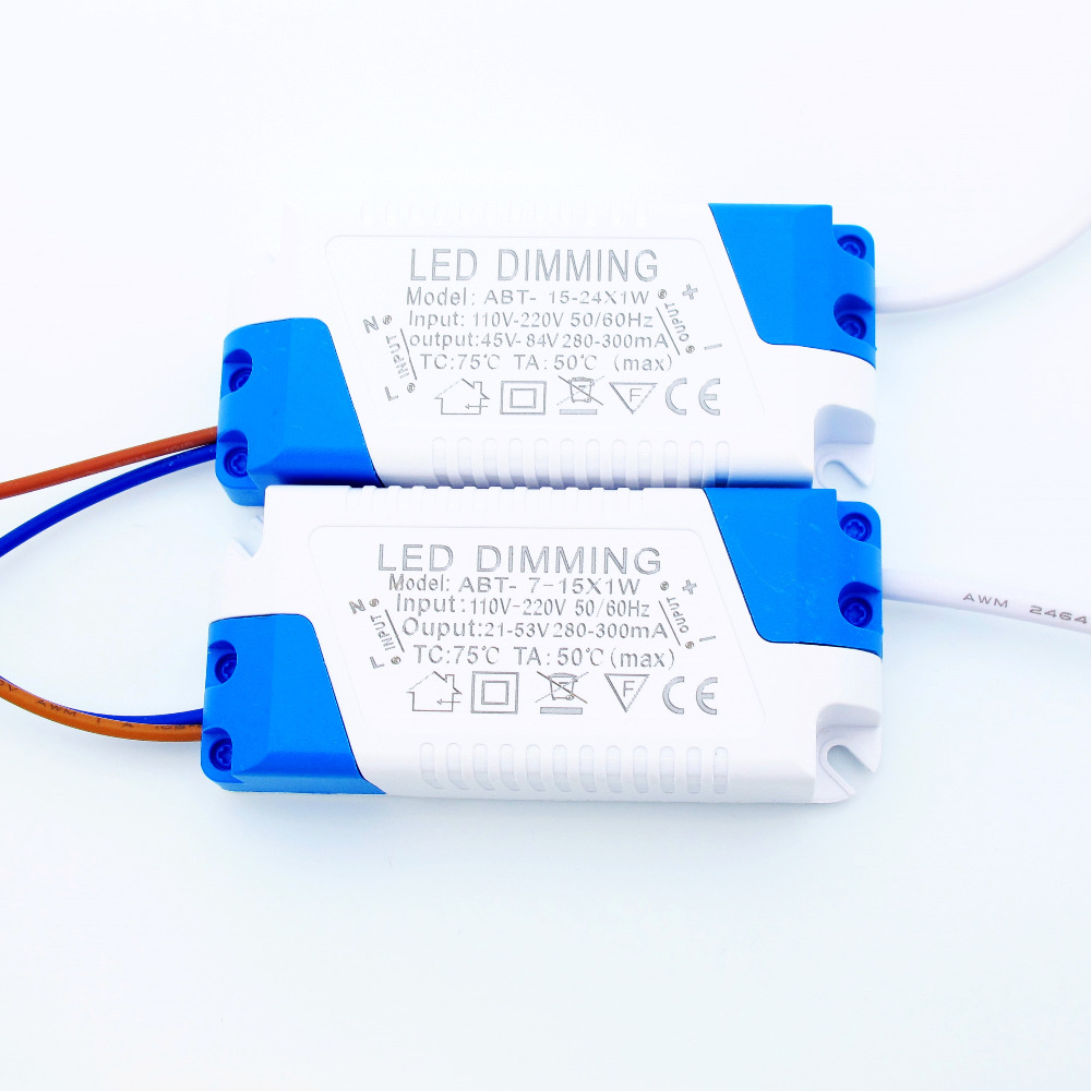 ᐂ300mA Dimmable Led Pilote 7 W 9 W 10 W 12 W 15 W 18 W 21 W 24 W