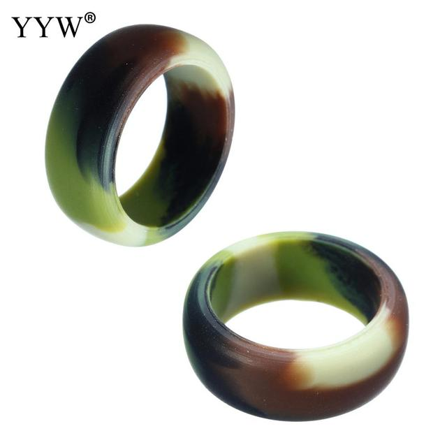 Silicone Rings For Women Men Finger Donut Wedding Rings Jewelry