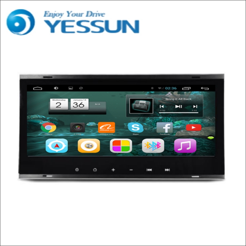 YESSUN Android Radio Car DVD Player For Volkswagen Old Touareg stereo radio multimedia GPS navigation with WIFI Bluetooth AM/FM