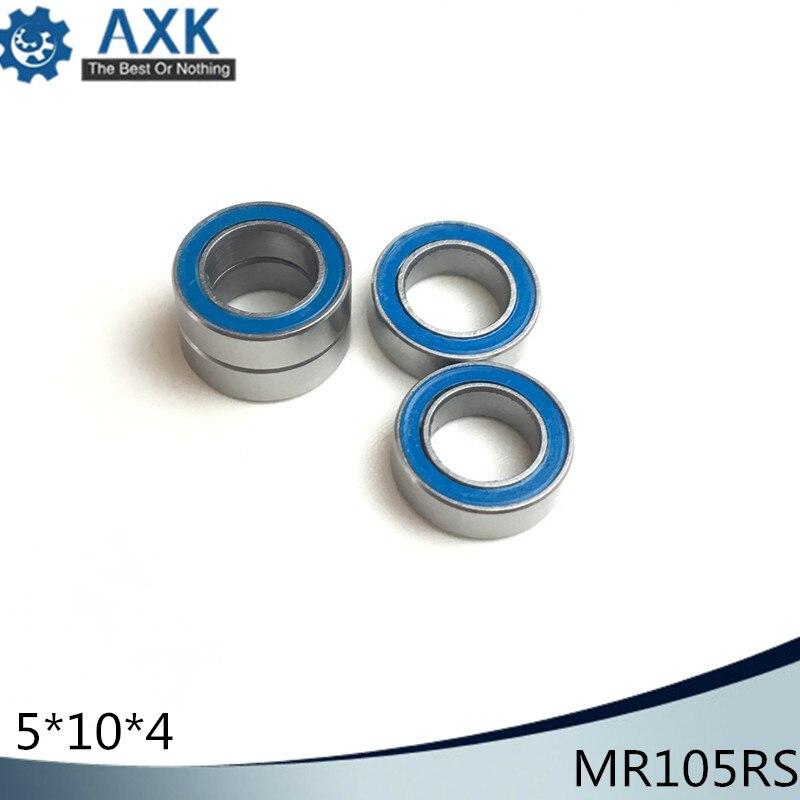 Miniature Ball Bearings Black Rubber Sealed Bearing MR85-2RS 5x8x2.5 10 PCS