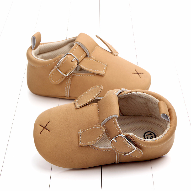 Baby First Walkers Matte leather Shoes for Baby Girl Boy Cartoon Animal Newborn Slippers Footwear Booties Kids Gift Child Shoes (28)