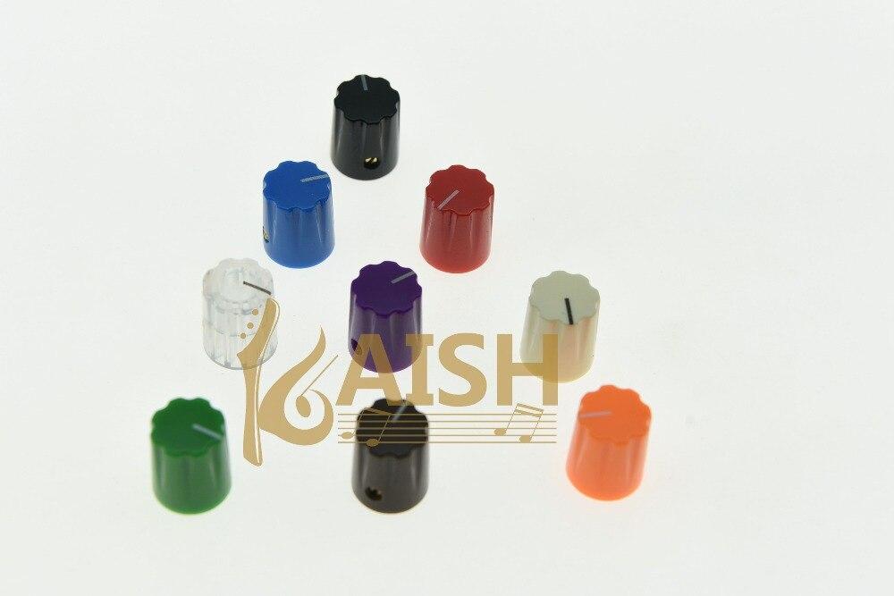 KAISH 10x Guitar Amp Effect Pedal Knobs 1/4