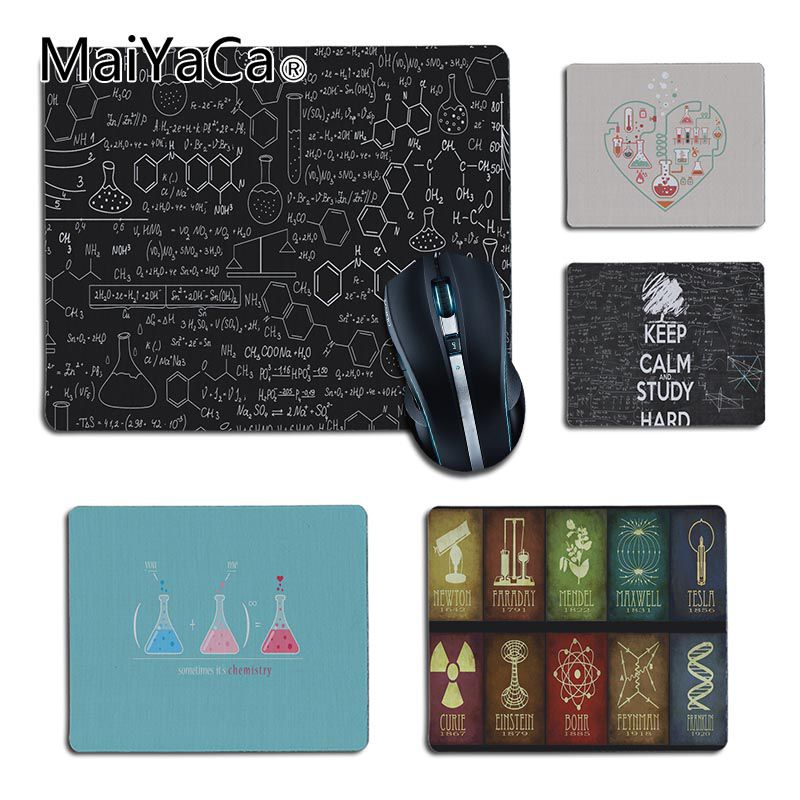 MaiYaCa Good Use I Love Chemistry  Office Mice Rubber Mouse Pad For Game Playing Lover Custom Mouse Pad Your Girl Friend Gift