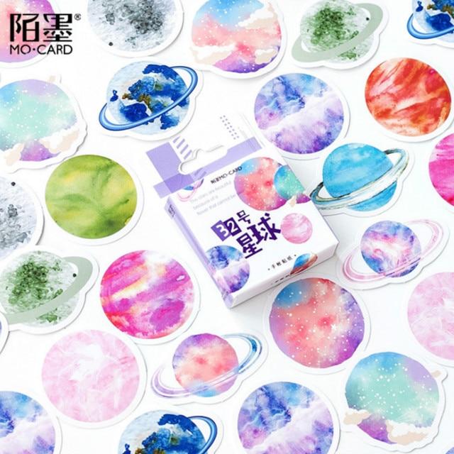 45 unids/set kawaii papelería pegatina creativa encantador patrón de birdie diario escuela suministros papelería Navidad pegatinas regalo