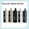 Apuramento cubóide mini kit joyetech apresentando com 2400 mah bateria interna vem com capacidade de 5 ml atomizador