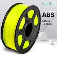 SUNLU ABS Filament 1.75mm For 3D Printer 100% No Bubble Top Quality Plastic ABS Filament For Children Scribble 2.2LBS With Spool