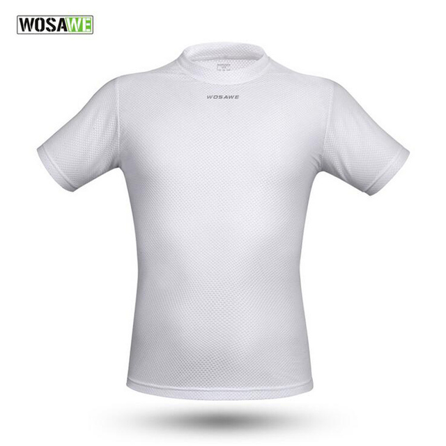 WOSAWE Cycling Jersey Quick Dry Breathable Mountain Bike Jersey Summer  White Short Sleeve Men Cycling Clothing ee0eedabc