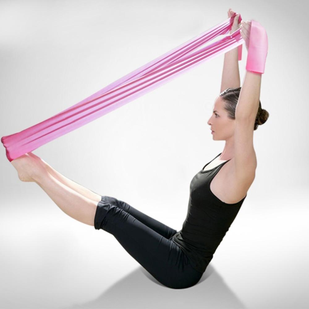 HEISSE 1.2m elastische Yoga Pilates - Fitness und Bodybuilding - Foto 5