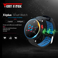 VERYFiTEK X2 Plus Sport Smart Wristband Watch Blood Pressure Heart Rate Monitor IP68 Waterproof Smart Band Fitness Bracelet