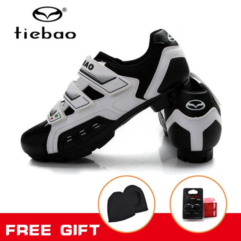 Tiebao Cycling shoes 2018 biycle bike SPD system professina MTB cycle shoes cycling for men Men