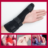 Professional protected Gloves Mouse Pad Ergonomic Computer Wrist with aluminum stip hold wrist for PC Laptop for tenosynovitis