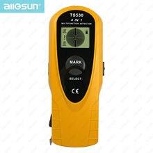 4 in 1 super detector digital multifunction metal detector AC voltage/stud Spotlight&Groove 2m measure tape inside all-sun TS530