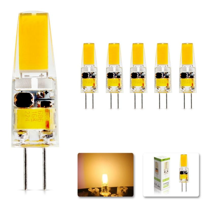 5Pcs/lot 2017 G4 AC DC 12V <font><b>Led</b></font> bulb Lamp SMD 6W <font><b>Dimmable</b></font> Replace halogen lamp light 360 Beam Angle luz lampada <font><b>led</b></font>