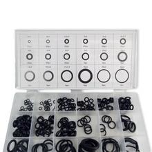 AC9000 Acecare уплотнительные кольца PCP Пейнтбольные Силиконовые черные прокладки/резиновые Сменные уплотнения 18 размеров/225 шт в пластиковой коробке черные