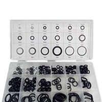 AC9000 Acecare O-ringe PCP Paintball Silikon Schwarz Dichtung/Gummi Ersatz Abdichtung 18 Größen/225 stücke mit kunststoff Box Schwarz