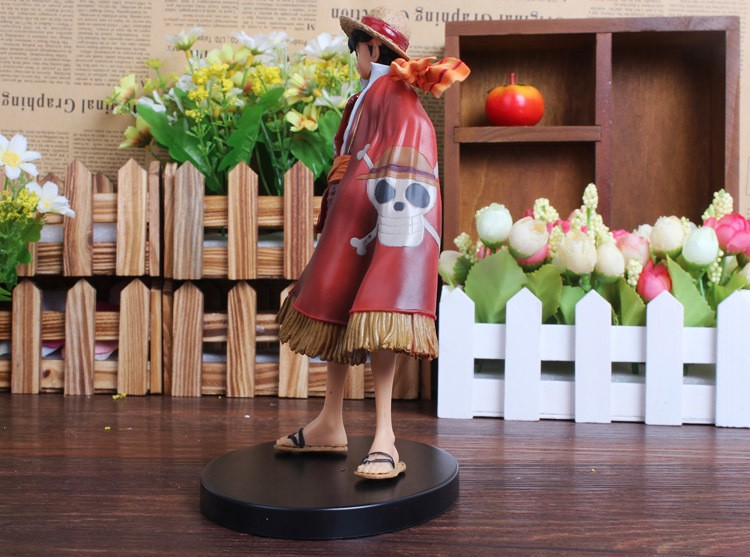 One Piece Luffy Action Figure Left View