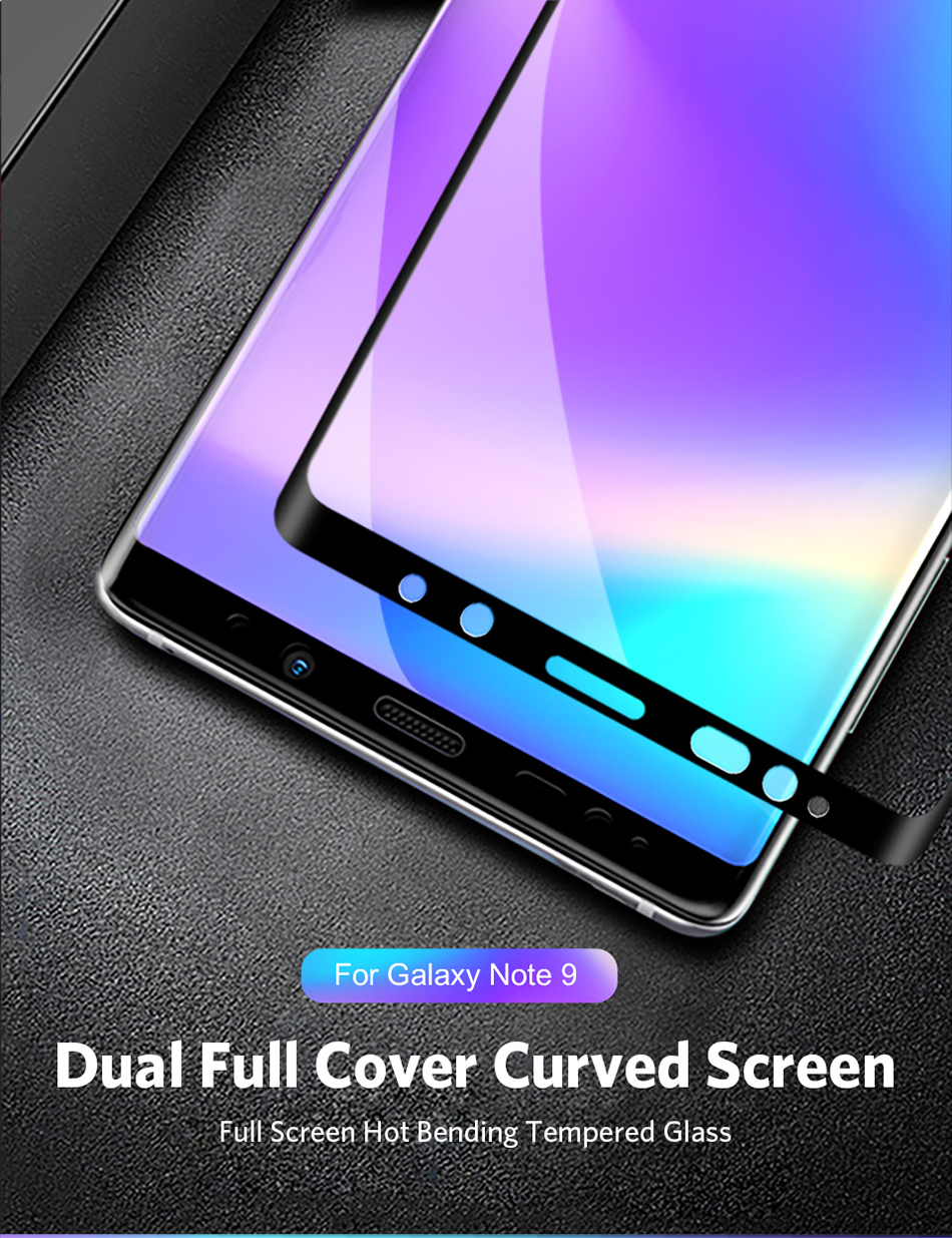 Benks Full Cover Tempered Glass 9H For Samsung Note9 0.3mm Thin Protector Screen Front Film (1)