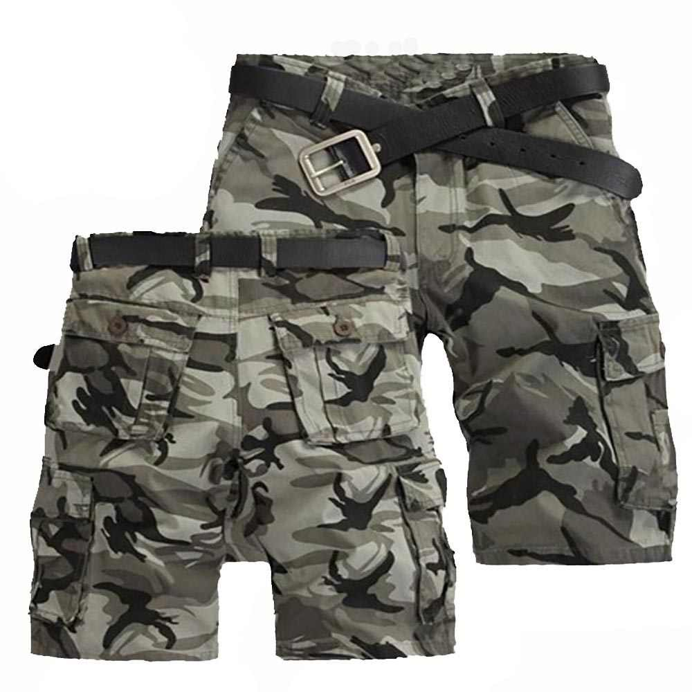 Shorts Lading Mannen Mode Joggers Camouflage Shorts Zomer Camo Body Fitness Korte Masculino Heren Kleding