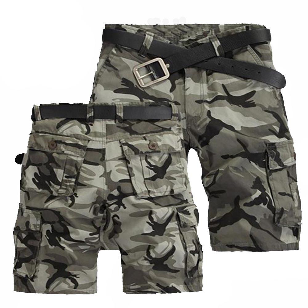 Shorts Cargo Men Fashion Joggers Camouflage Shorts Summer Camo Body Fitness Short Masculino Mens Clothing