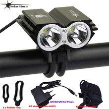 SolarStorm X2 Waterproof Bike Light 5000LM 2 X T6 LED Front