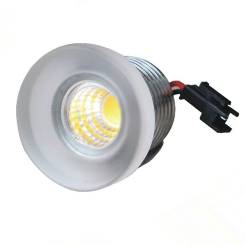 mini led spot light 3w cob led jewelry light ac110 240v. Black Bedroom Furniture Sets. Home Design Ideas