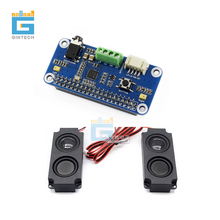WM8960 Hi Fi Sound Card HAT for Raspberry Pi, Stereo CODEC, Play/Record  Raspberry Pi Audio Expansion  with 8ohm 5W Speaker