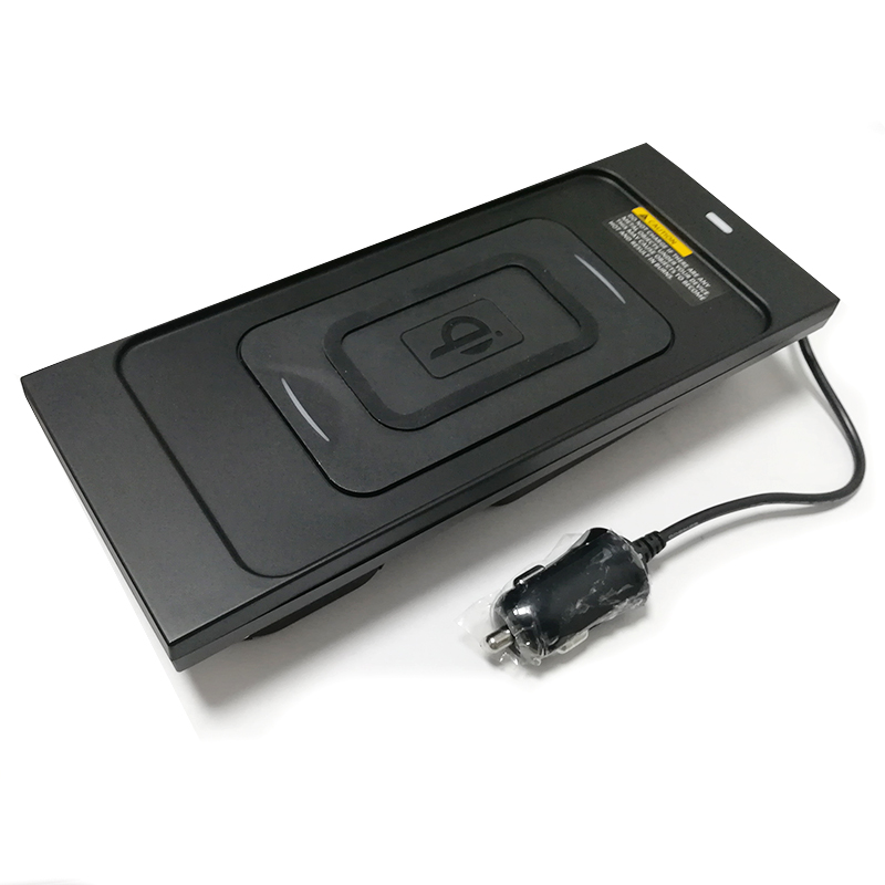 10 Вт QI Беспроводное зарядное устройство для мобильного телефона зарядное устройство Быстрая зарядка пластина держатель телефона Аксессуары для Volvo XC60 S90 V90 XC90 для iPhone