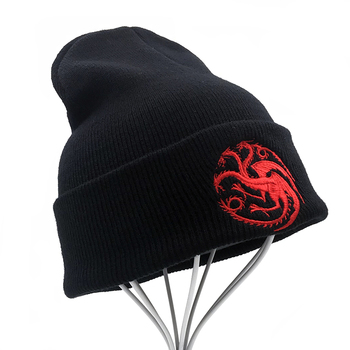 """House Targaryen"" Knitted Hip Hop Сap"