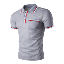 Fashion Men Polo Shirt 2018 New Arrival Brand Camisa Masculina Cotton Breathable Short Sleeve