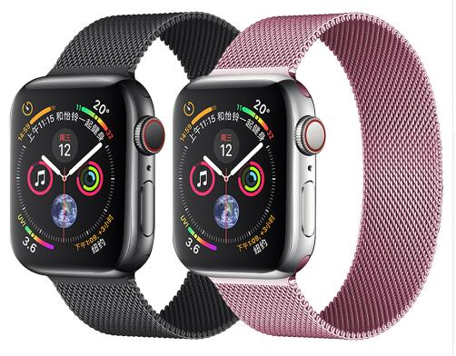 EIMO Milanese Loop strap For Apple Watch band 4 Iwatch 3 band 42mm 44mm 38mm 40mm i watch correa Bracelet Watchband AccessoriesEIMO Milanese Loop strap For Apple Watch band 4 Iwatch 3 band 42mm 44mm 38mm 40mm i watch correa Bracelet Watchband Accessories