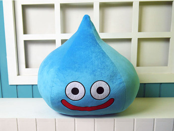 Dragon Quest szlam Cosplay maskotki zabawki niebieski pluszowy i wypchane lalki z kreskówek tanie i dobre opinie Kostiumy Dla dorosłych Final Fantasy