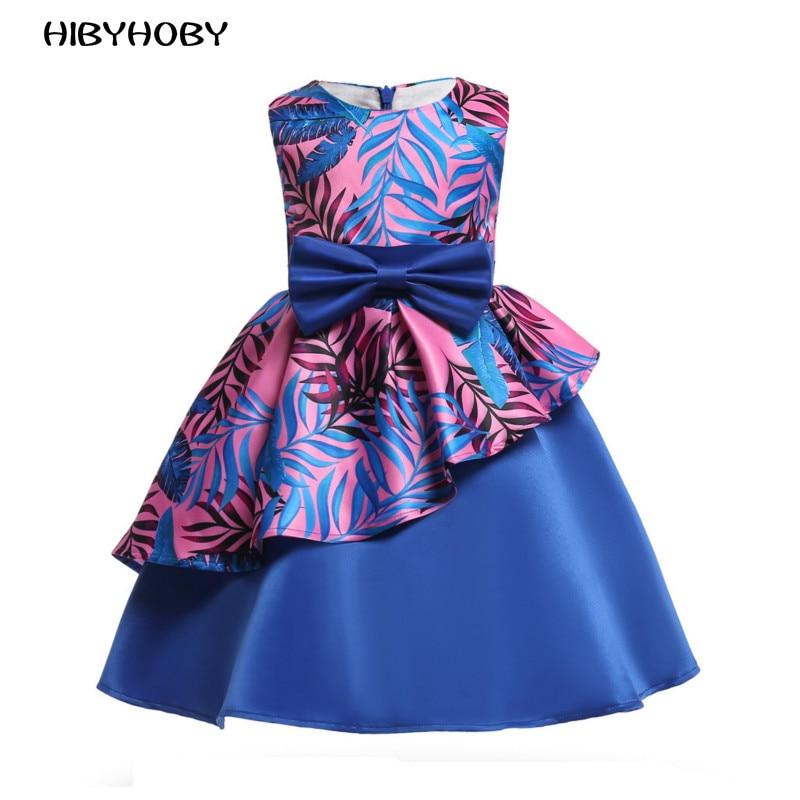 HIBYHOBY 2018 New Girl Formalne Wesele Sukienki Dzieci Princess - Ubrania dziecięce - Zdjęcie 1