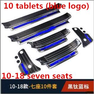 for 10 18 Prado doorpost guard panel connects for TOYOTA bully 2700 welcome boarding pedal to decorate accessories in Nerf Bars Running Boards from Automobiles Motorcycles