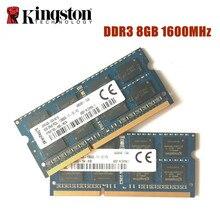キングストン 8 ギガバイト PC3L 12800S DDR3 1600Mhz 8 ギガバイトのノートパソコンメモリ DDR3L 8 グラム PC3L 12800S 1600 ノートブックモジュール SODIMM ラム