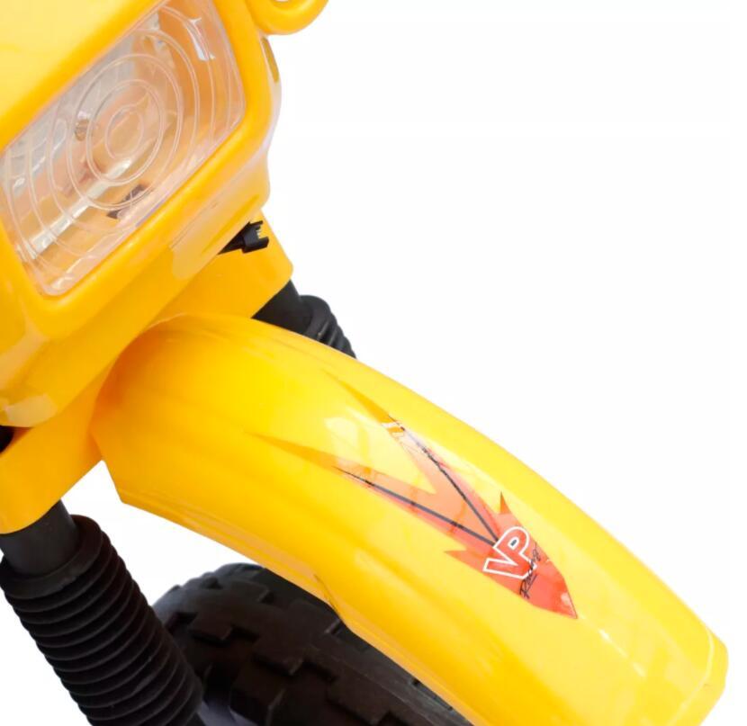 Moto éLectrique Pour Enfants Jaune monter sur les voitures Enfants Moto éLectrique Enfants apprentissage éducation Mini vélo cadeaux Pour Enfants - 5