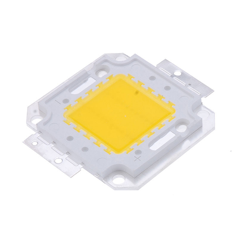 Light Beads 10W/20W/30W/50W/100W Warm White High Power LED 35x35Mil chip Lamp SMD Chip Light 9-35V 10W-100W