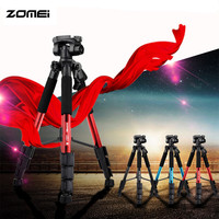Original Zomei Q111 Portable Professional Tripod Camera Legs Lens Lightweight Pro Aluminium Holder Tripe Tripod Stand for Camera