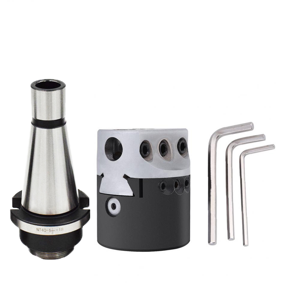 9pcs 12mm Boring Bars CNC Milling Tools Kit Set M16 MT4 F1-12mm Boring Head