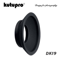 Kutupro DK 19 Oculare In Gomma Oculare Oculare Oculare per Nikon D4 D3 D800 D3 D700 F5 F4 Macchina Fotografica-in Mirino da Elettronica di consumo su