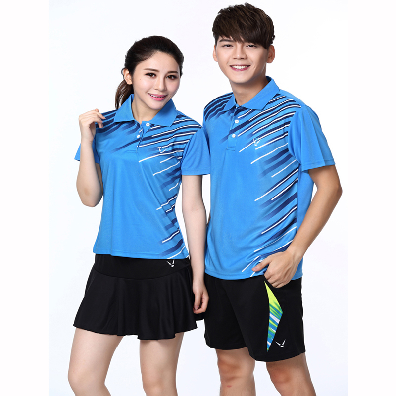 Race way summer style shirts for men and women in uniform for Womens school uniform shirts