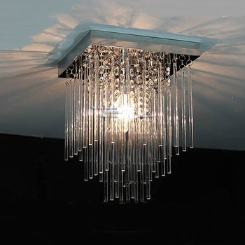 Crystal combination Led ceiling lamp Crystal  L 20cm hone Fixture hotel decorations Lighting pendant lights ZA
