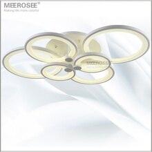 Accesorio Anillo De Luz LED blanco LED Lámpara Chandelier Lustre Luz Gran Montaje Empotrado LED Círculos para comedor dormitorio sentado