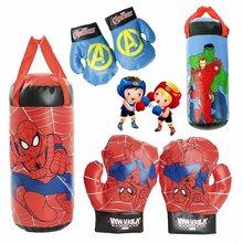 Новые детские перчатки Marvel Superhero Spiderman Халк, настоящие боксерские перчатки «Человек-паук», «мстители», детские игрушки для декомпрессии