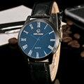 Relogio masculino 2017 Herren Uhren Geschäfts Luxury Casual Militär Quarz Armbanduhr Lederband Sport Männliche Uhr uhr K118