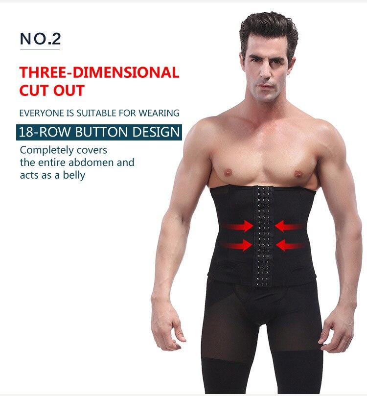 e93175e94b8 Item Name Men Tights Belt Corset Man Girdle Belly Fat Belt Compression  Waist Trainer Mens Slimming Male Trimmer Belt size 8 9 ...